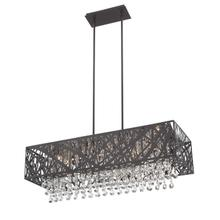 See Details - Pendant, Espresso/crystals, Type Jcd/g9 50wx10, Dci