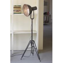 See Details - caged studio lamp