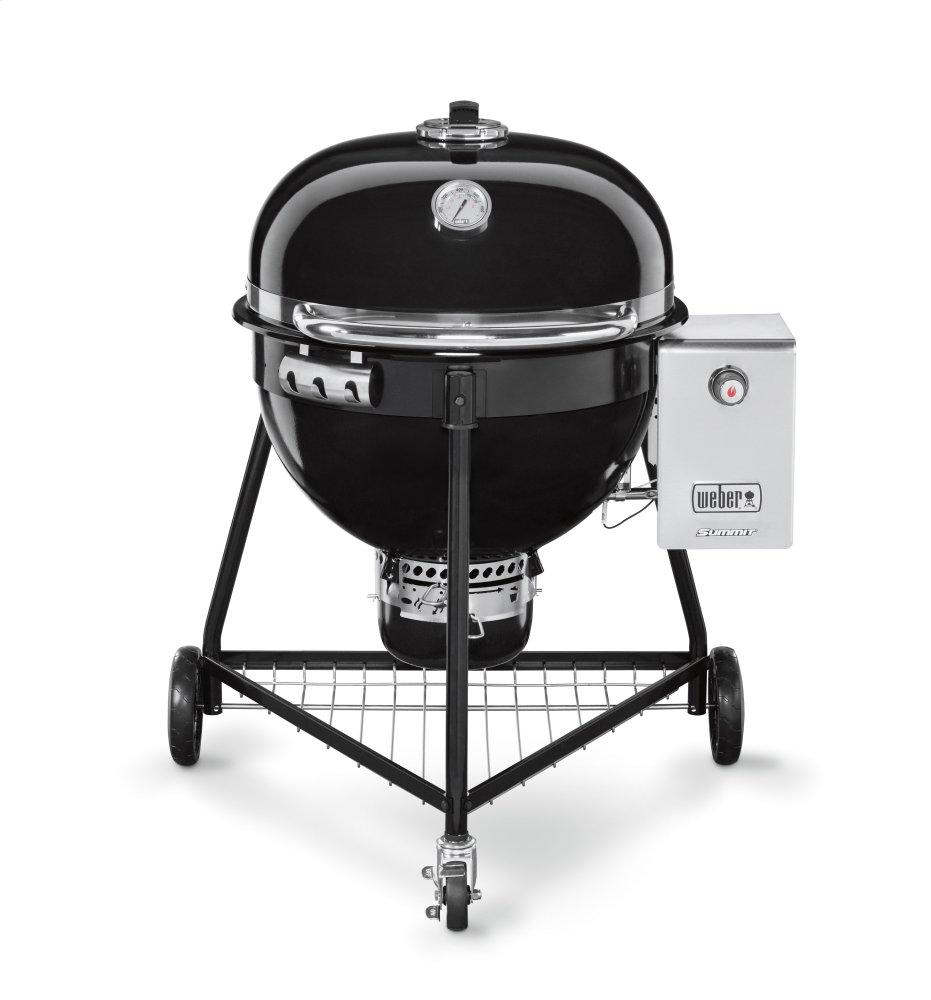 SUMMIT® CHARCOAL GRILL - 24 INCH BLACK Photo #1