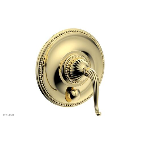 GEORGIAN & BARCELONA Pressure Balance Shower Plate with Diverter and Handle Trim Set PB2141TO - Polished Brass