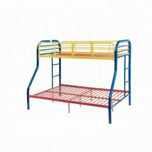 ACME Tritan Twin/Full Bunk Bed - 02043RNB - Rainbow
