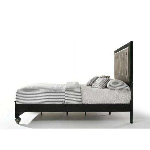 ACME Ulrik Eastern King Bed - 27067EK - Copper & Black