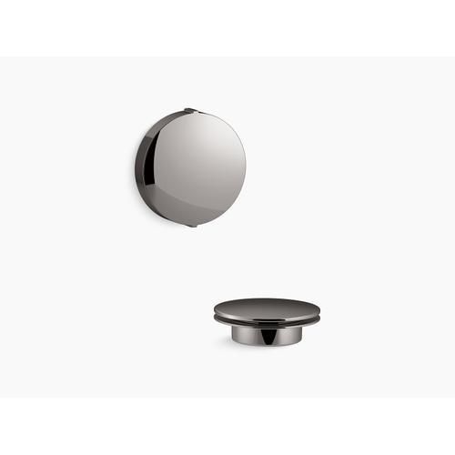 Kohler - Vibrant Titanium Rotary-turn Bath Drain Trim