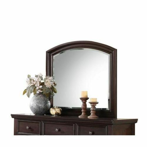 ACME Grayson Mirror - 24614 - Dark Walnut