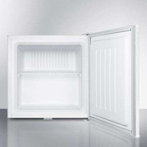 Compact -20 c All-freezer, Manual Defrost With A Factory Installed Lock and 1.4 CU.FT. Capacity