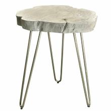 See Details - Nila Accent Table in Light Grey