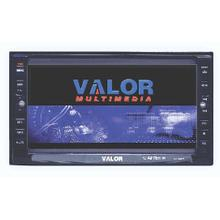 """2 DIN AM/FM/DVD Receiver with 6.5"""" Touch Screen Monitor"""