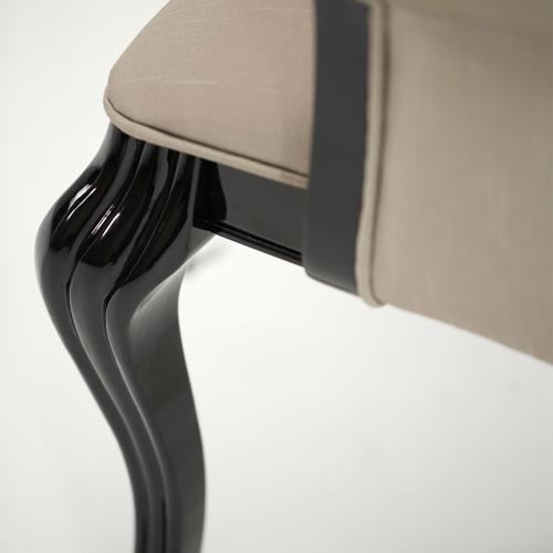 Black Onyx Arm Chair