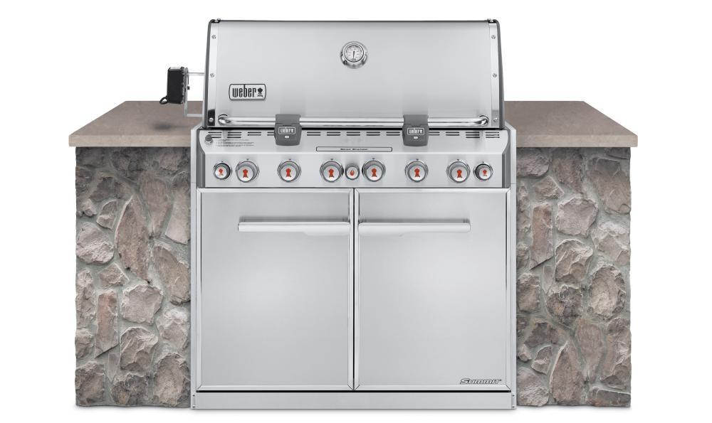 WeberSummit® S-660™ Natural Gas Grill - Stainless Steel