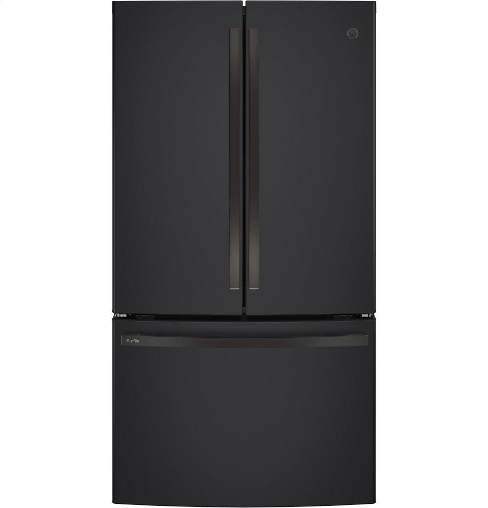 GE ProfileSeries Energy Star® 23.1 Cu. Ft. Counter-Depth French-Door Refrigerator