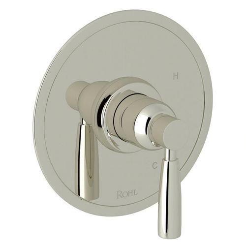 Holborn Pressure Balance Trim without Diverter - Polished Nickel with Metal Lever Handle