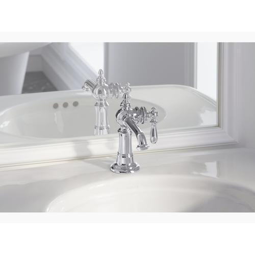 Polished Chrome Single-handle Bathroom Sink Faucet