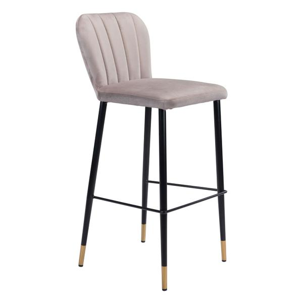 See Details - Manchester Bar Chair Gray