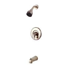 Brushed Nickel 1-Handle Tub & Shower Trim