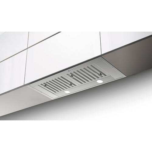 "35"" pro series insert hood with Variable Air Management"