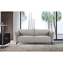 View Product - Divani Casa Jihae - Modern Grey Fabric Sofa