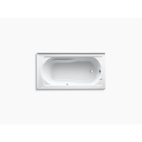 "Dune 60"" X 32"" Alcove Bath With Bask Heated Surface, Integral Apron and Right-hand Drain"