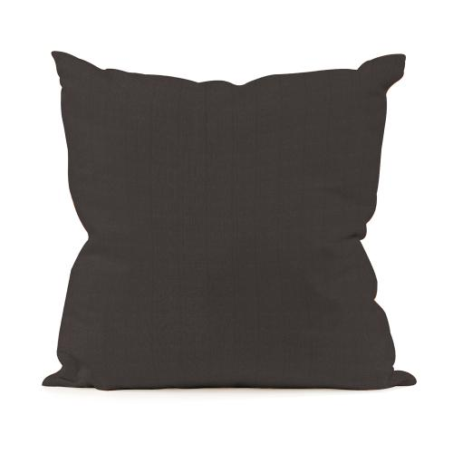 "Patio Pillow Cover 16""x16"" Seascape Charcoal (Cover Only)"