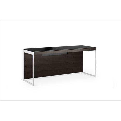 BDI Furniture - Sequel 20 6101 Desk in Charcoal Satin Nickel