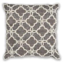 """Pillow L322 Grey Arabesque 18"""" X 18"""""""