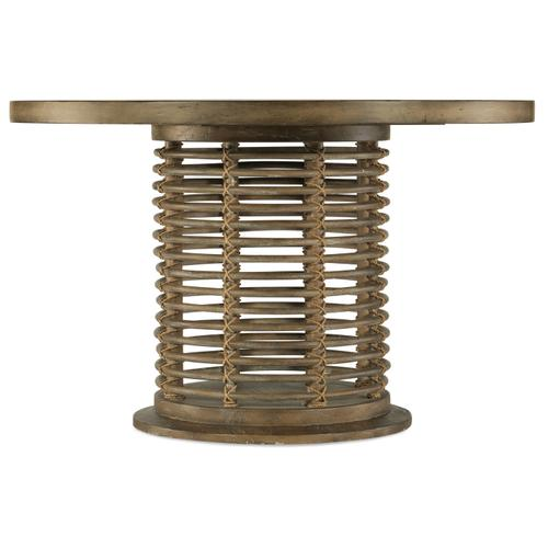 Hooker Furniture - Sundance 48in Rattan Round Dining Table