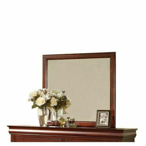 ACME Louis Philippe III Mirror - 19524 - Cherry