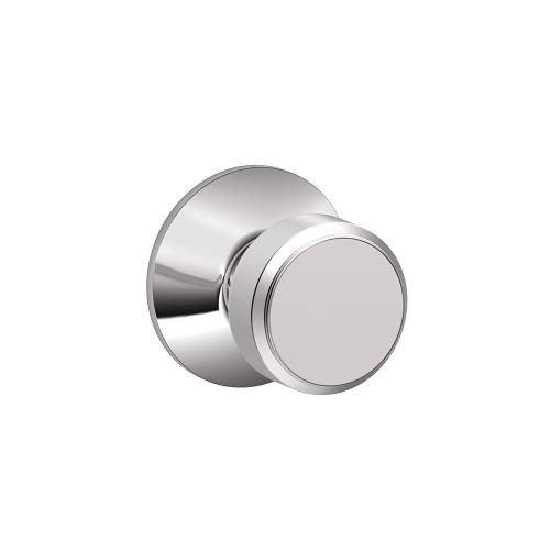 Bowery Knob Hall & Closet Lock - Bright Chrome