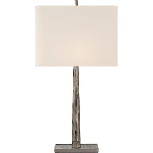Barbara Barry Lyric 32 inch 100 watt Pewter Branch Table Lamp Portable Light