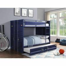 ACME Cargo Bunk Bed (Full/Full) - 37905 - Blue
