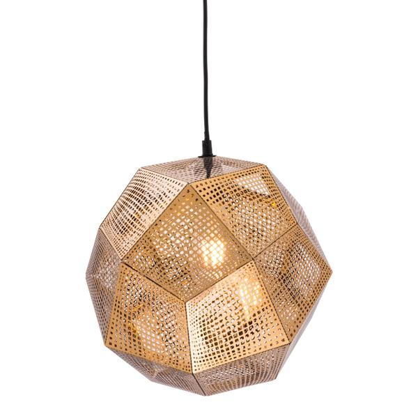 See Details - Bald Ceiling Lamp Gold
