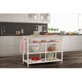 Kennon Kitchen Cart - Granite Top
