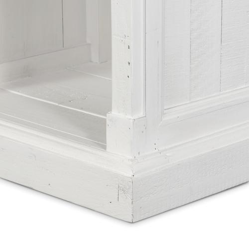 Cintra Bedside Cabinet-limestone White