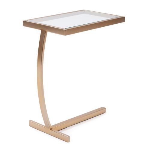Howard Elliott - Dark Brushed Brass Side Table