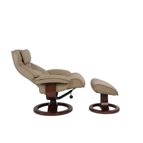 Mustang R Manual Large Recliner With Footstool
