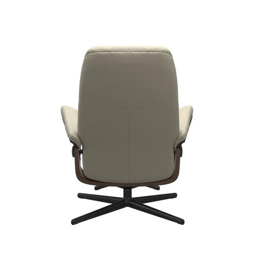 Stressless By Ekornes - Stressless® Consul (M) Cross Chair with Ottoman