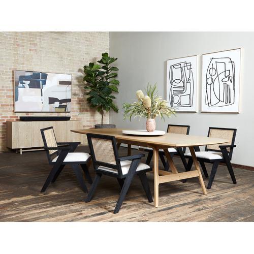 Four Hands - Yara Dining Table-burnished Oak