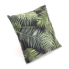 Tropical Pillow Black & Green