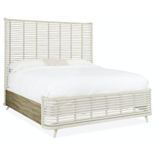 Bedroom Surfrider King Rattan Bed