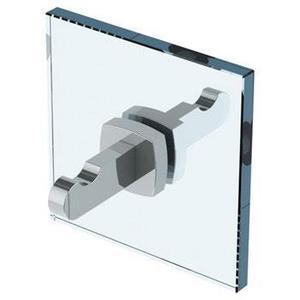 H-line Double Shower Door Knob/ Glass Mount Hook Product Image