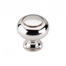 Ring Knob 1 1/4 Inch - Polished Nickel