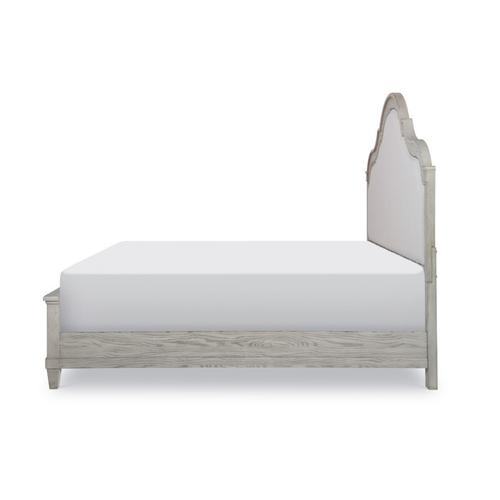 Belhaven Upholstered Panel Bed, King 6/6