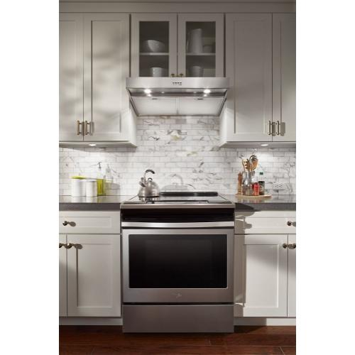 """Whirlpool Canada - 30"""" Range Hood with Dishwasher-Safe Full-Width Grease Filters"""