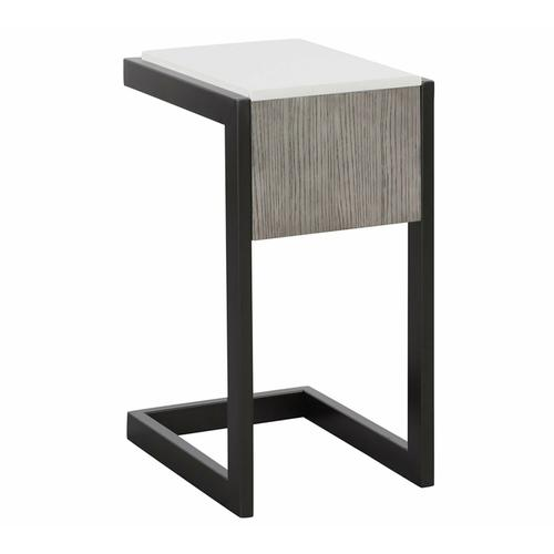 PURE MODERN C-Table with Quartz top