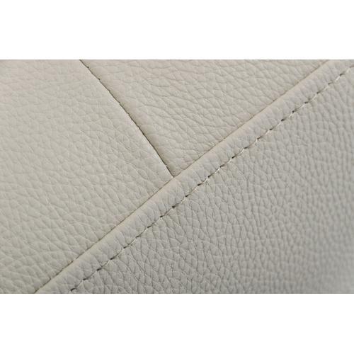 VIG Furniture - Divani Casa Edelweiss - Modern Light Grey Eco-Leather Left Facing Sectional Sofa