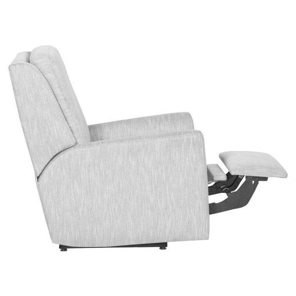 See Details - Hickory Arm Power Back Glider Recline
