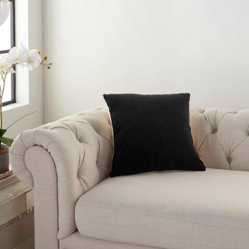 "Life Styles Ss900 Black 16"" X 16"" Throw Pillow"