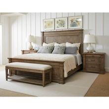 View Product - Portico Panel Bed - Drift / California King