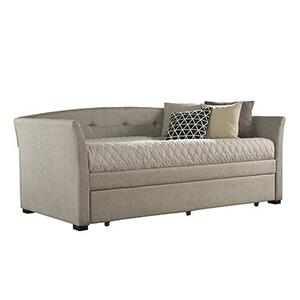 Hillsdale Furniture - Morgan Daybed With Trundle, Natural Herringbone