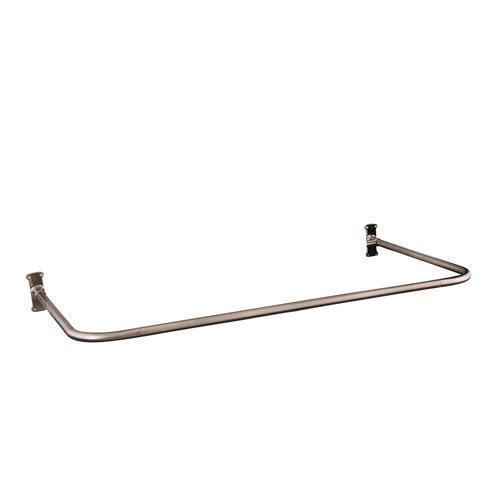 "30"" ""U"" Shower Rod - Brushed Nickel"