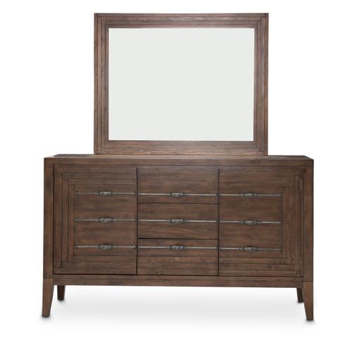 Sideboard & Mirror (2pc)
